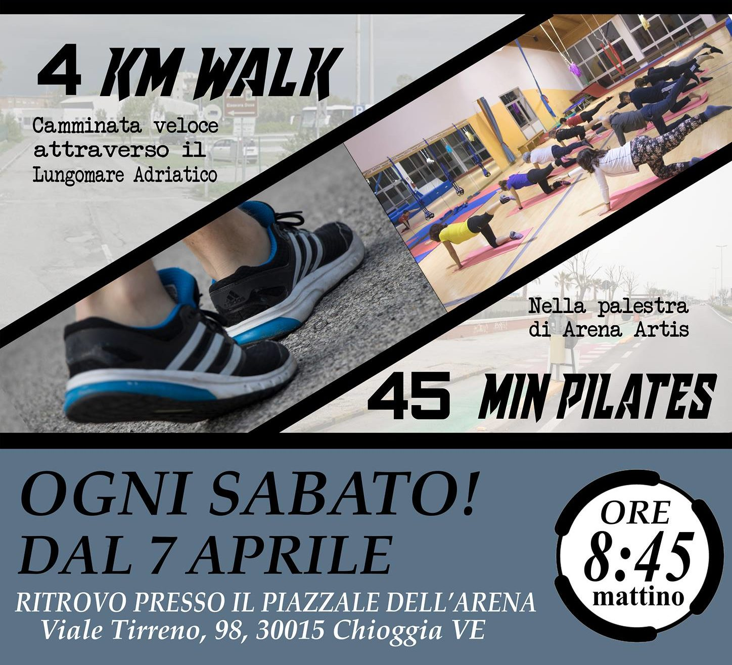 Pilates Walk By Arena Artis
